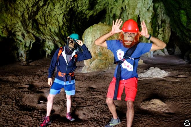 Ape is Cave Explorer.